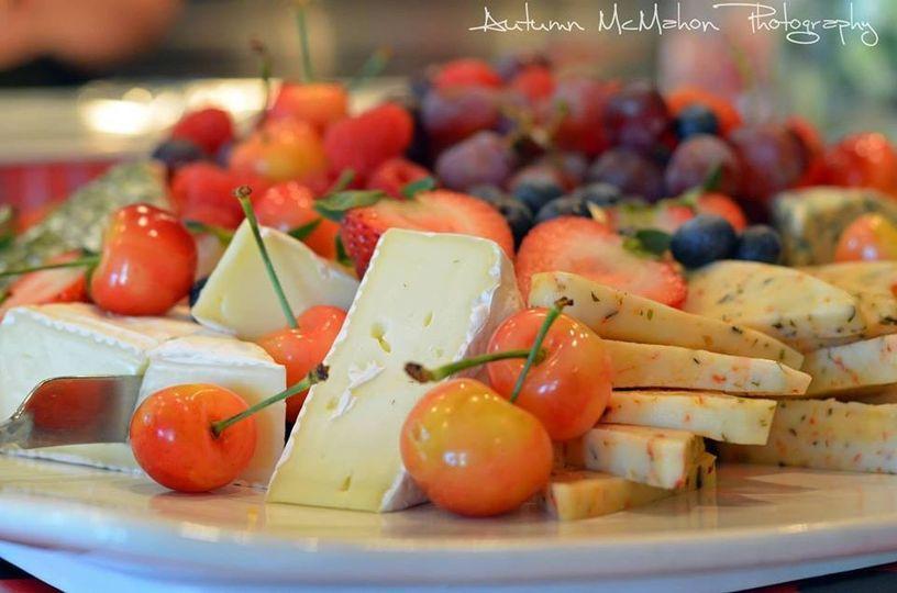 cheese displa