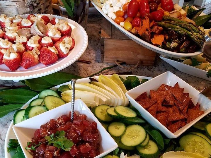 Tmx Poke Tuna Display 51 668948 1562171778 Severna Park, MD wedding catering