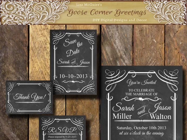 Tmx 1444424723363 Chalkcovercover Scranton wedding invitation