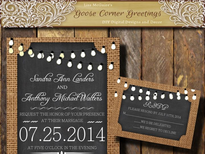 Tmx 1444424946140 Cover Scranton wedding invitation