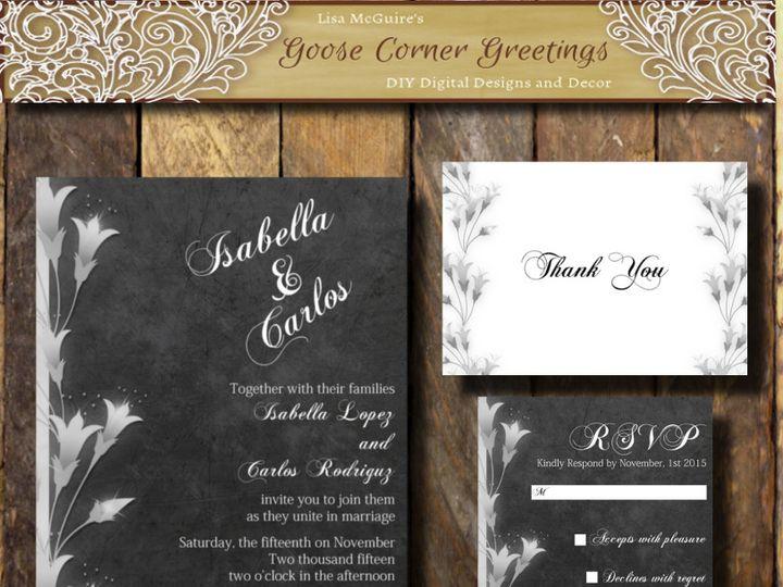 Tmx 1444424976027 Shopbackground Scranton wedding invitation