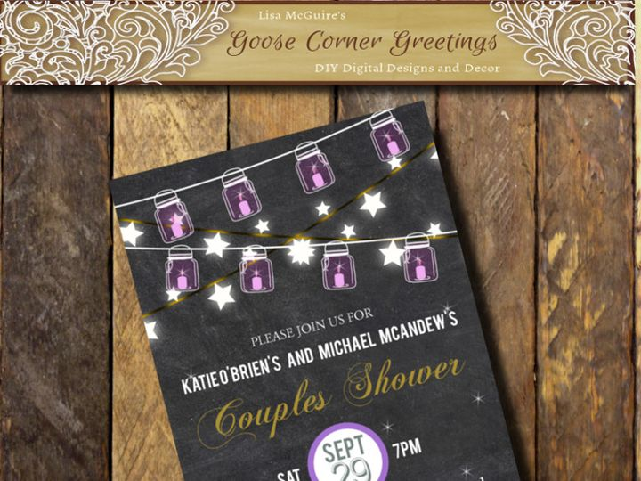 Tmx 1444424996365 Shopbackground Scranton wedding invitation