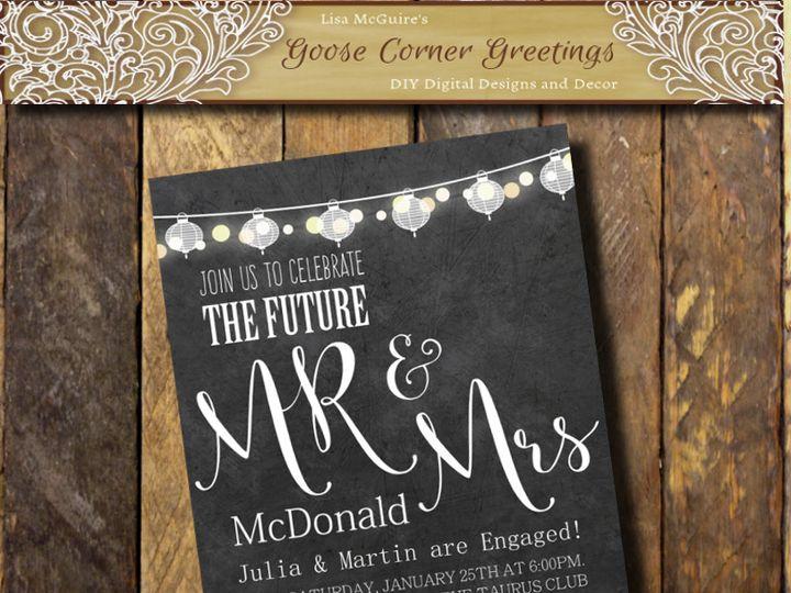 Tmx 1447169188600 Shopbackground Scranton wedding invitation