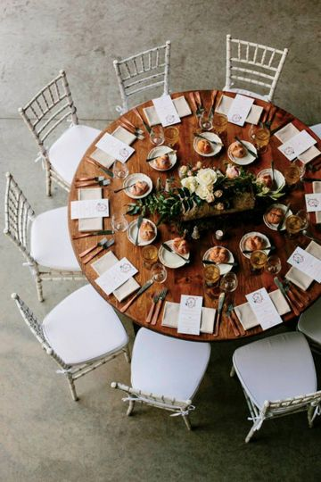 Table setup w