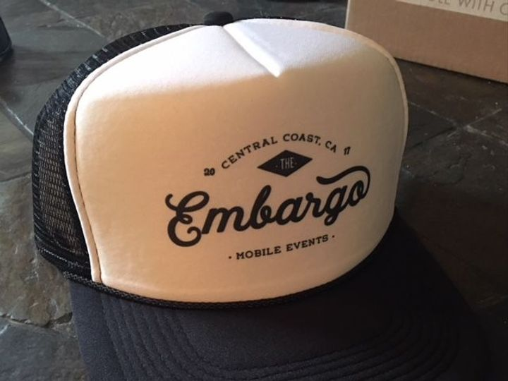 Tmx 1530124073 D6183ce39251cc07 1530124072 33d08e05963a74d9 1530124059540 1 Trucker Hat Pismo Beach, CA wedding catering