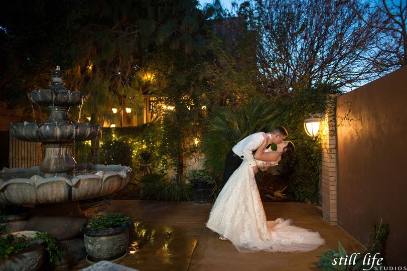 Romantic courtyard