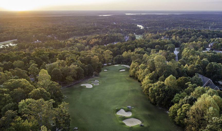 Aerial course views