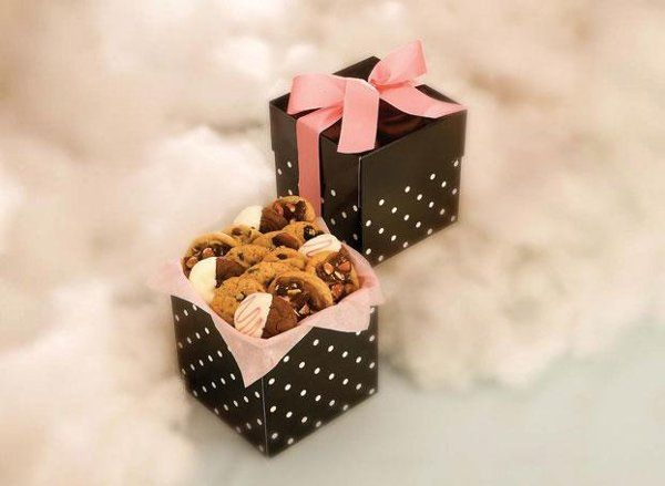 This is not your average cookie box or cookies. Decadent gourmet cookie bouquet that provides for...