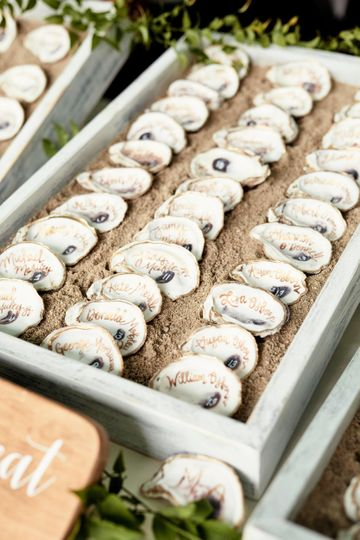 Oyster shell Table Assignment