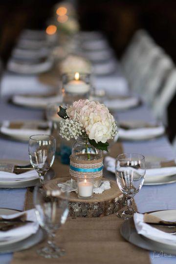 Table setup