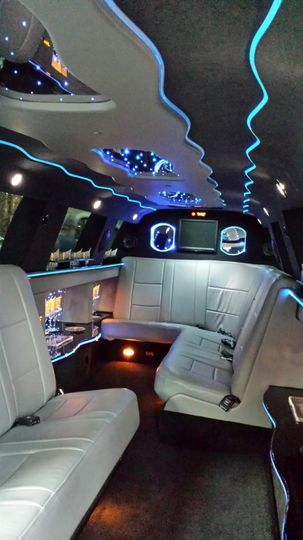 Inside the Wolf Aspen Limo