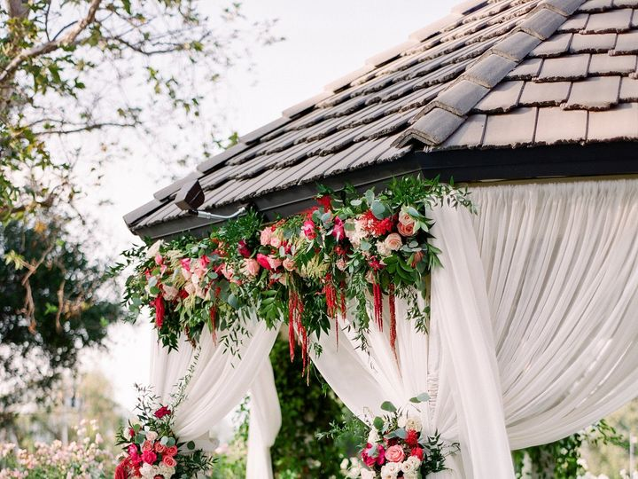 Tmx 1495738620173 Gazebo Drape And Flower Fullerton, CA wedding venue