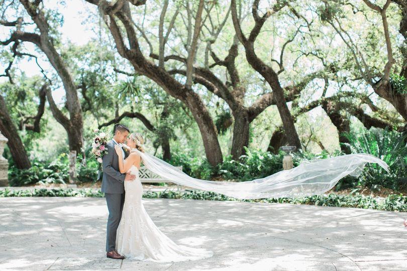 Bridal Veil - the Ashley