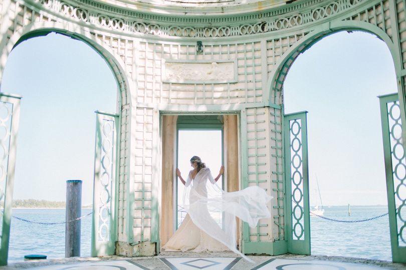 Wedding Cape Veil - the Ashley