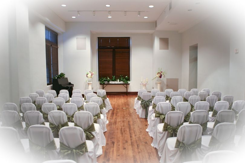 noble hall with chair covers