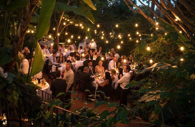 Villa 20 Patio - Wedding Reception