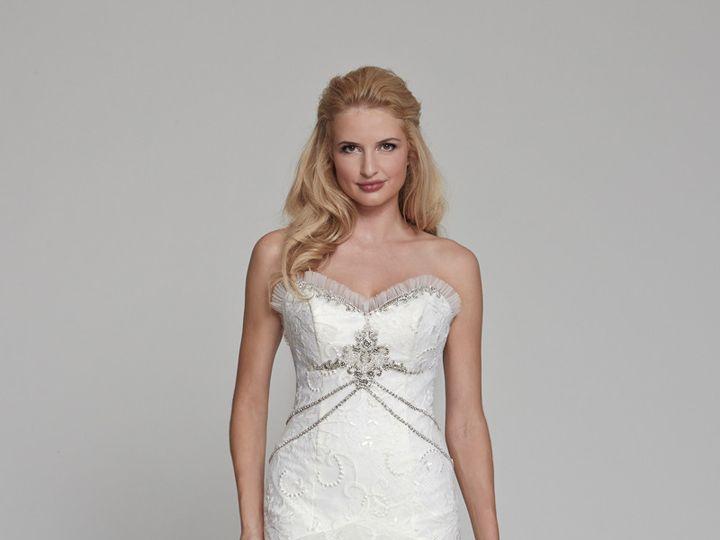 Tmx 1415305970512 Dahlia Front Ridgewood wedding dress