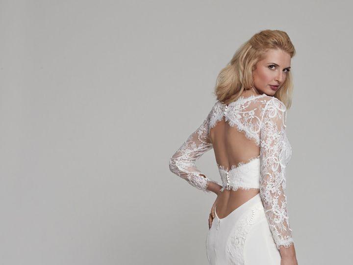 Tmx 1415305984182 Iris Back Ridgewood wedding dress