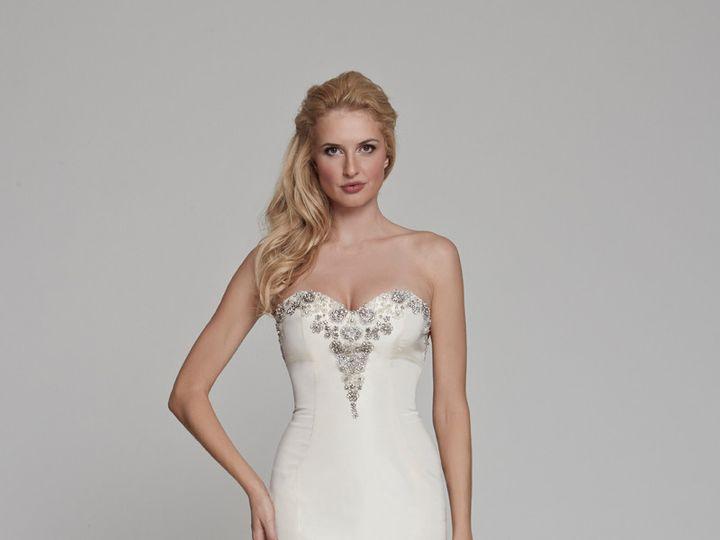 Tmx 1415305993567 Peony Front Ridgewood wedding dress