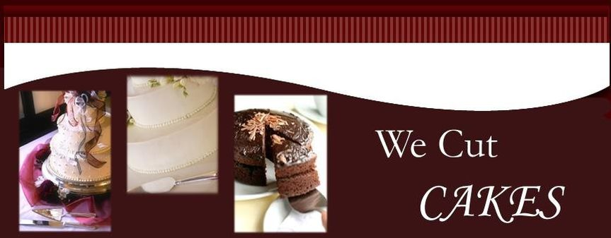 we cut cakes banner