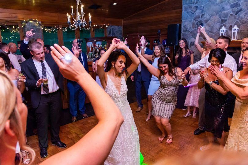 Bride in the zone