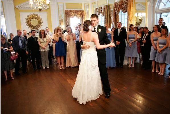 The first dance in our Grand Ballroom
