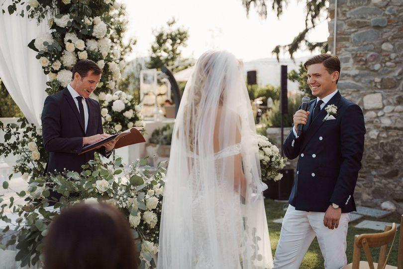 Wedding symbolic ceremony