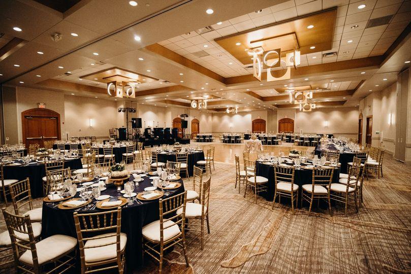 Stunning ballroom