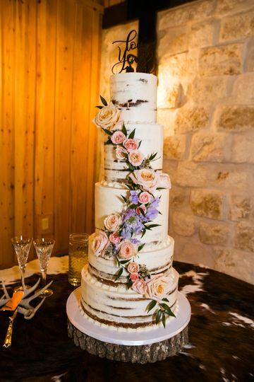 Wedding cake - Christine Meeker Photos
