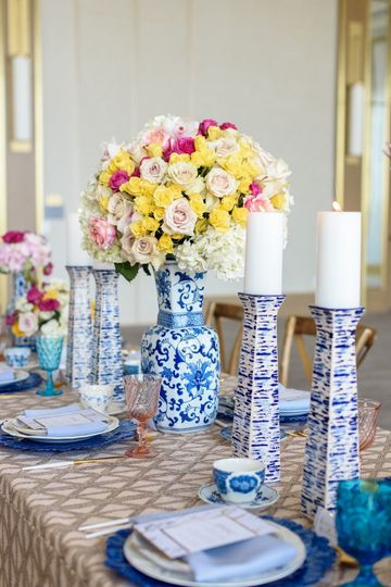 Table setting sample