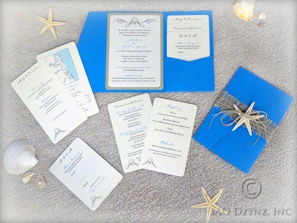 Tmx 1299638718218 StarfishInvites Dubuque wedding invitation