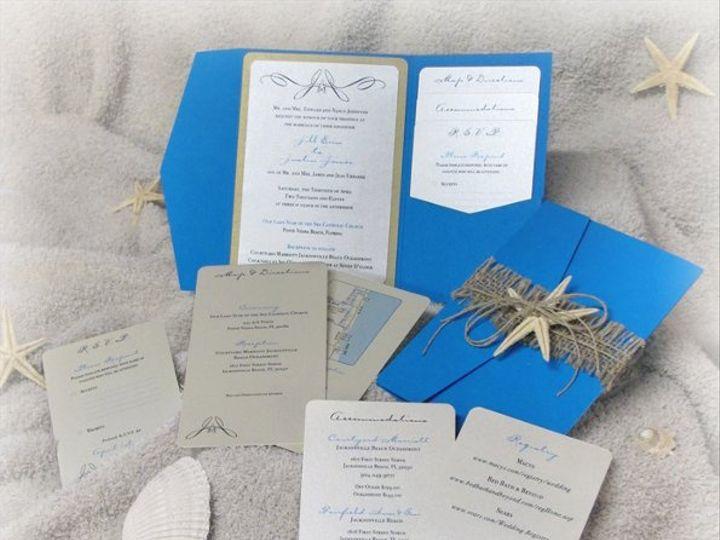 Tmx 1299638722281 StarfishInvites2 Dubuque wedding invitation