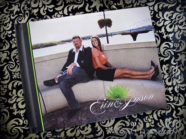 Tmx 1316198318293 PhotobookFront Dubuque wedding invitation