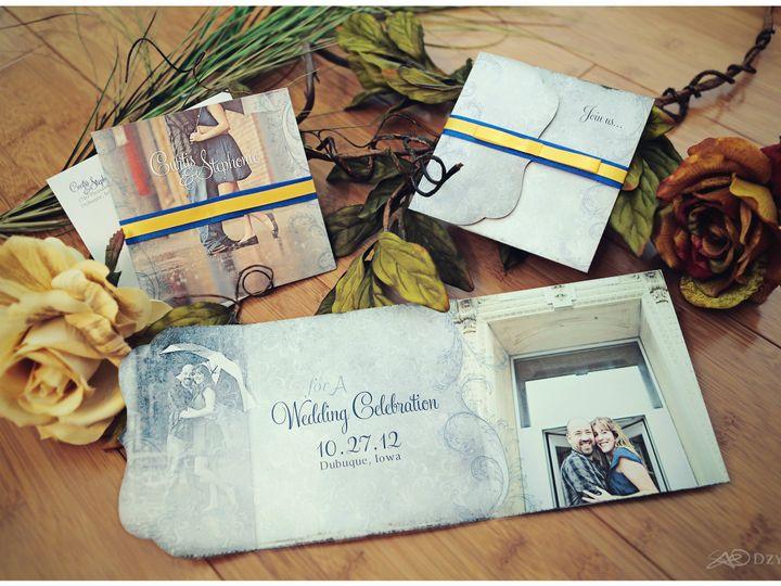 Tmx 1482864958503 Curtisstephstds Dubuque wedding invitation