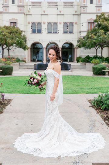 San Diego University bride