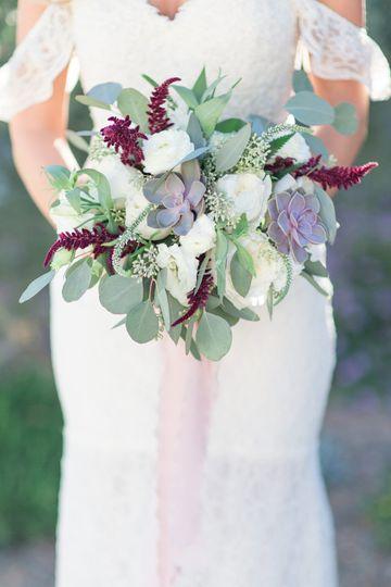 Orange County bridal flowers