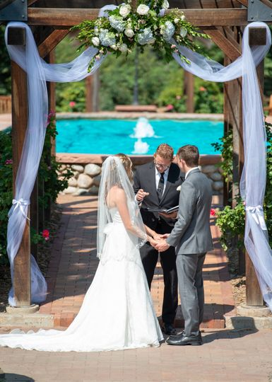 Ceremony Hudson Gardens