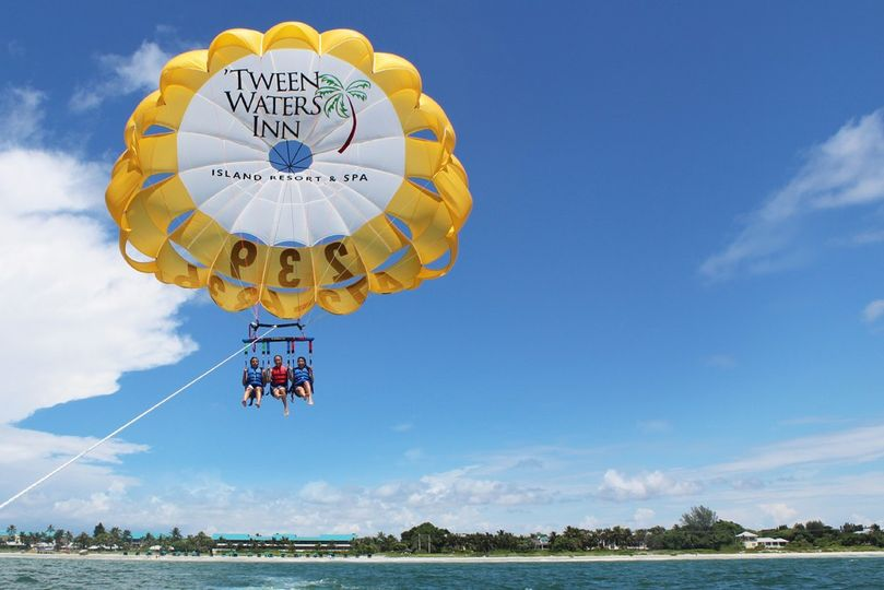 Parasailing at 'Tween Waters
