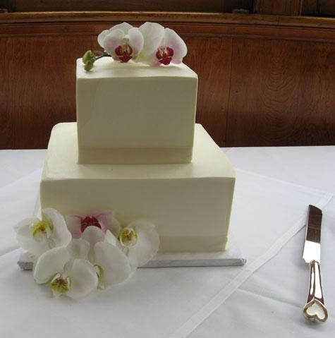 Two-layer cake
