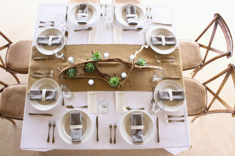 clean organic table