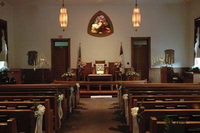 Interior of church where wedding was shot (2006)