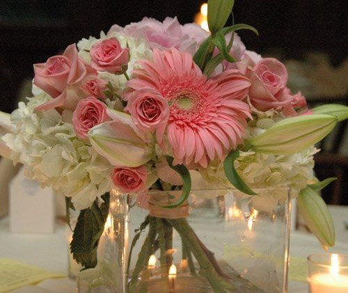 Photos of bride's and bridesmaids' flowers are always a beautiful addition to your album