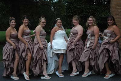 I always like to take a few of the wedding party getting silly and laughing. It really lightens the...