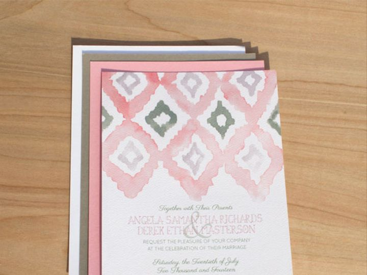 Tmx 1367503519374 Img0981small Philadelphia wedding invitation