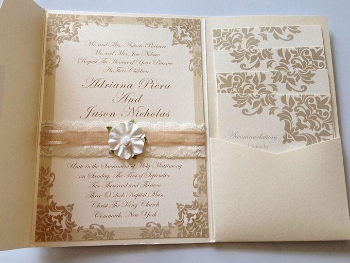 Tmx Pocketfold Invite 51 633358 East Northport, NY wedding invitation