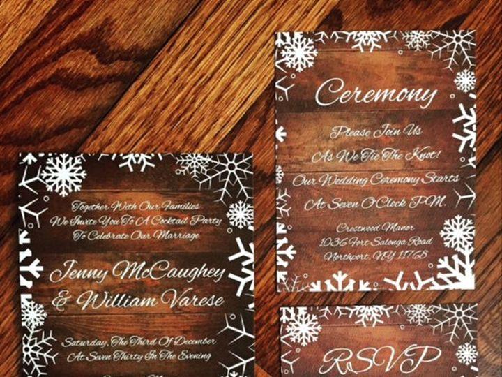 Tmx Winter Wedding Invitation 2 51 633358 East Northport, NY wedding invitation