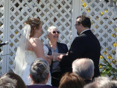Officiating a wedding