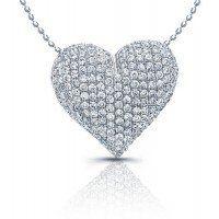 Tmx 1301689823740 Heartpendantdia Chino Hills wedding jewelry