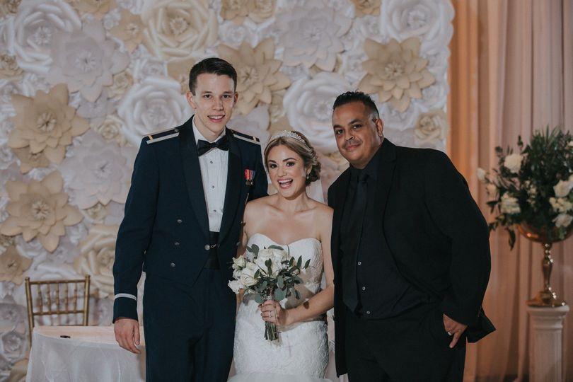 Wedding-day happiness
