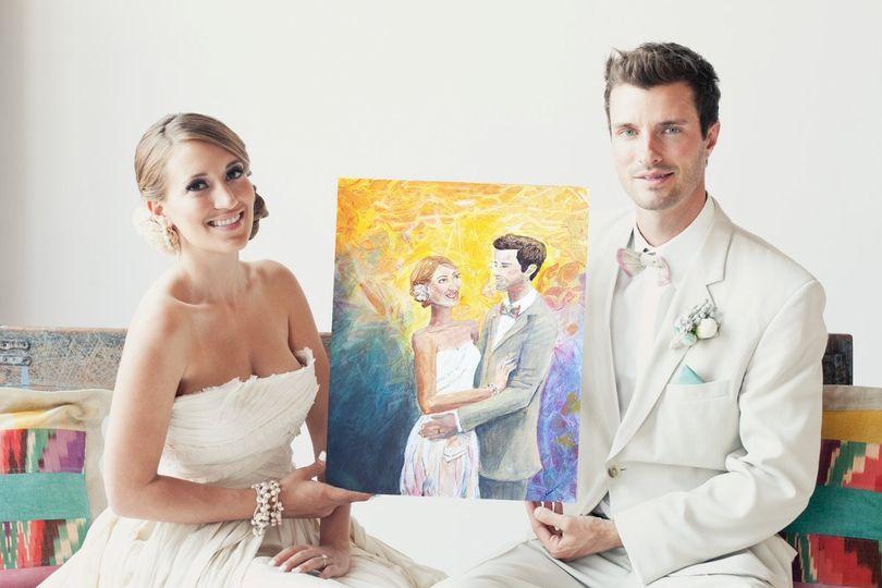 Weddingcoupleholdingmarriagepaintingportrait02bsmall